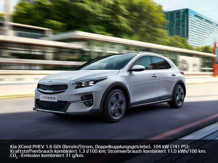 Der Kia XCeed Plug-in Hybrid